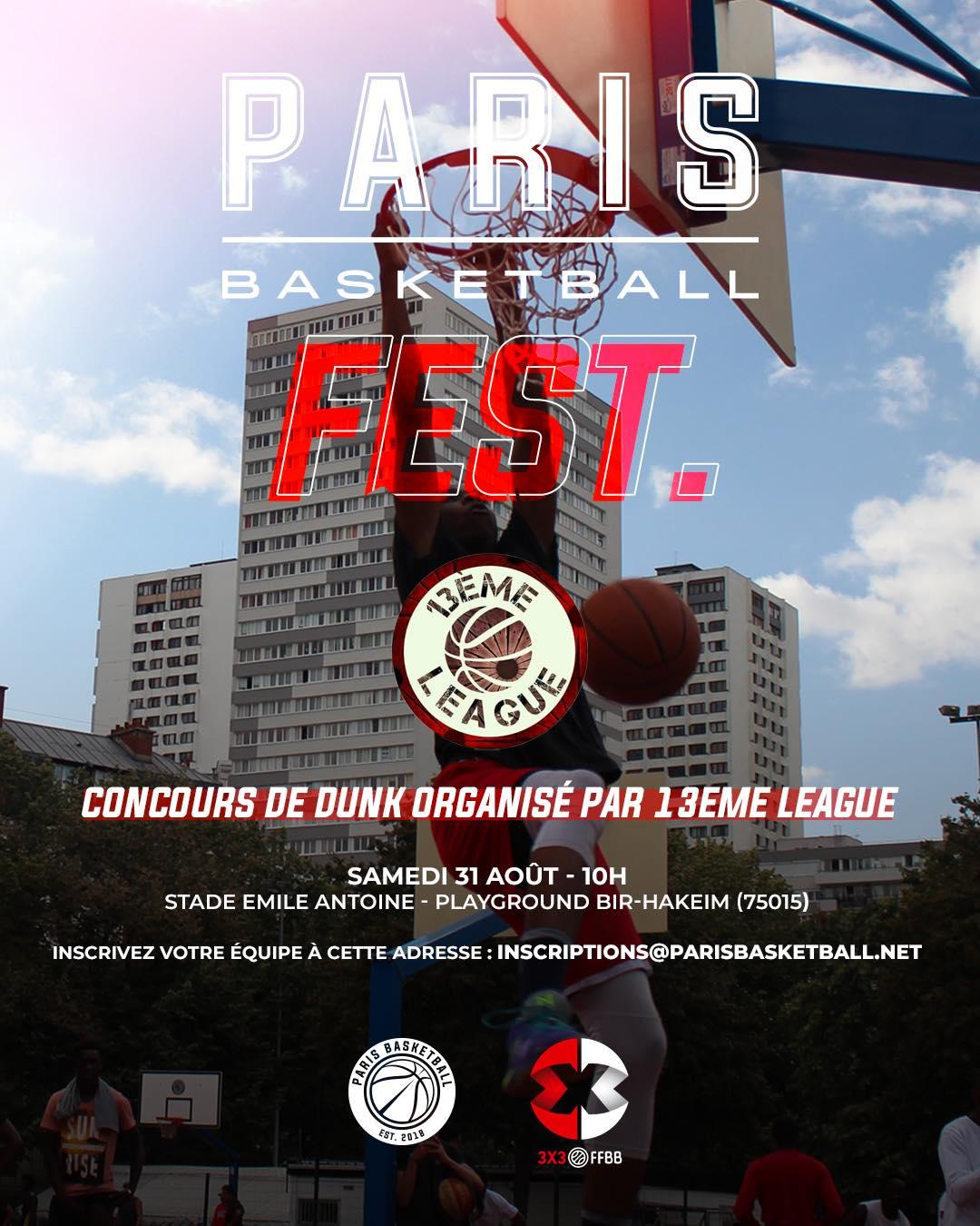 Paris Basketball Fest.