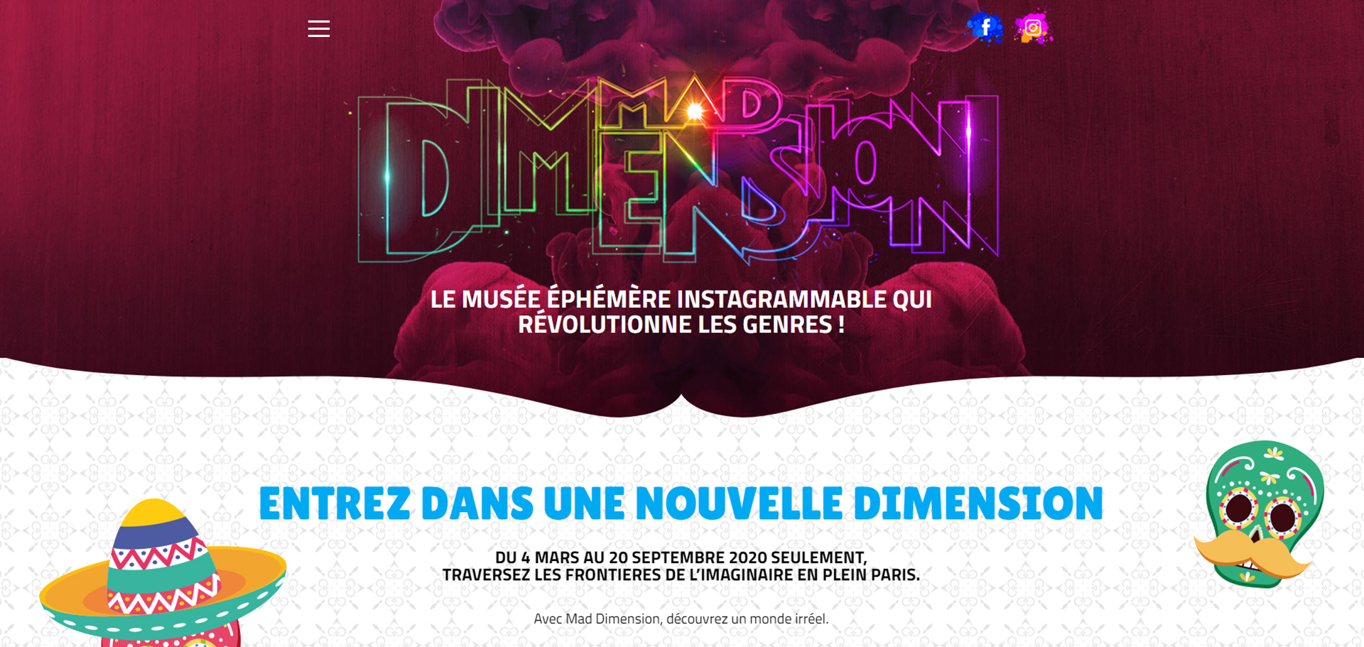 Extrait du site Mad Dimension